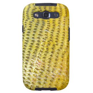 Dorado de oro - cubierta de la galaxia de Samsung  Galaxy SIII Funda