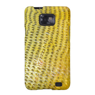 Dorado de oro - cubierta de la galaxia de Samsung  Samsung Galaxy S2 Fundas