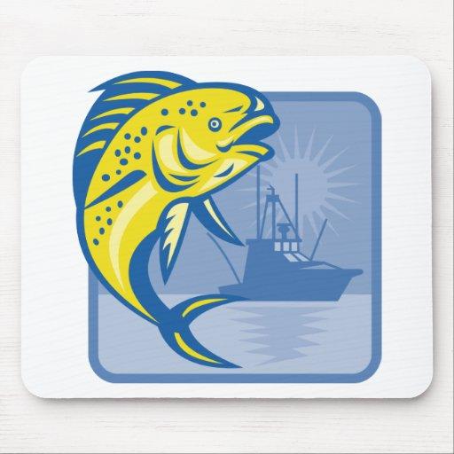 Dorado Dolphin Fish Mahi-mahi Mouse Pad
