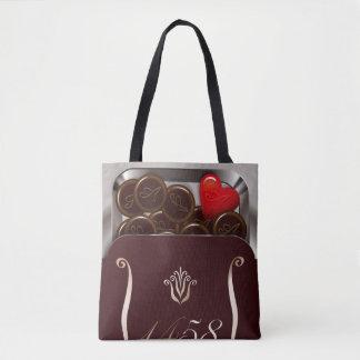 dorajie of heart tote bag