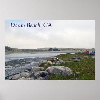 Doran Beach Poster