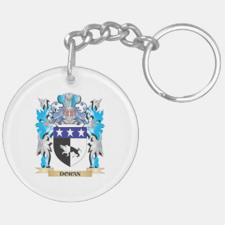 Doran Coat of Arms - Family Crest Double-Sided Round Acrylic Keychain