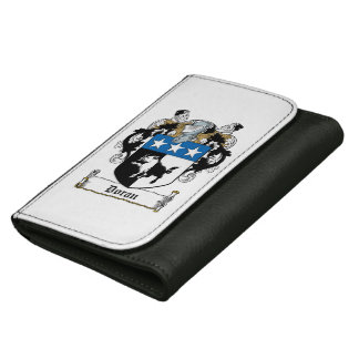 Doran Family Crest Leather Wallet For Women