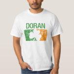 Doran Surname Clover T Shirts