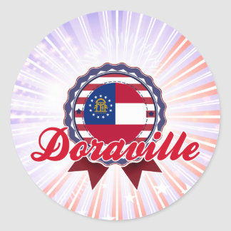 Doraville, GA Classic Round Sticker