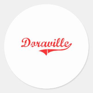 Doraville Georgia Classic Design Classic Round Sticker