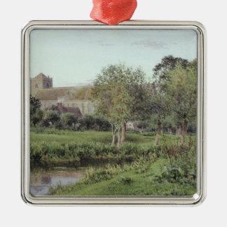 Dorchester Abbey, Near Wallingford Metal Ornament