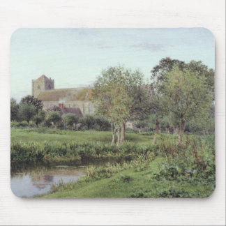 Dorchester Abbey, Near Wallingford Mouse Pad