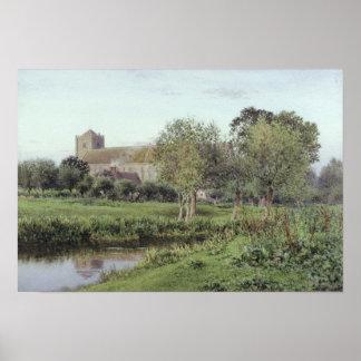 Dorchester Abbey, Near Wallingford Poster