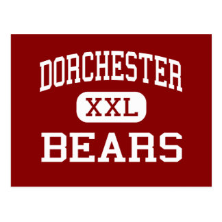 Dorchester - Bears - High - Dorchester Postcard