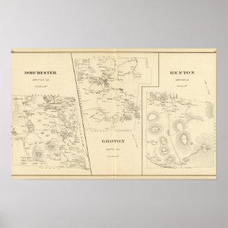 Dorchester, Groton, Benton Poster