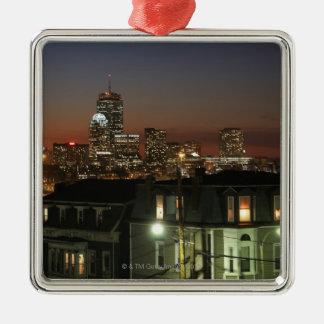 Dorchester Heights neighborhood of Boston Metal Ornament
