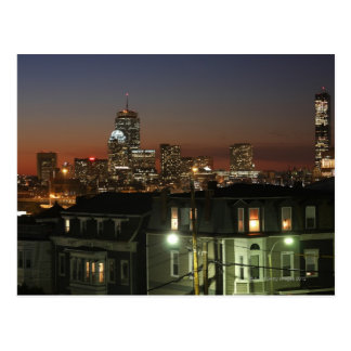 Dorchester Heights neighborhood of Boston Postcard
