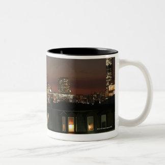 Dorchester Heights neighborhood of Boston Two-Tone Coffee Mug