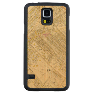 Dorchester, Massachusetts 2 Carved Maple Galaxy S5 Case