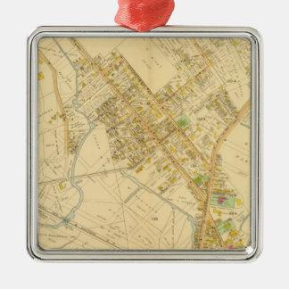 Dorchester, Massachusetts 5 Metal Ornament