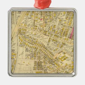 Dorchester, Massachusetts 7 Metal Ornament