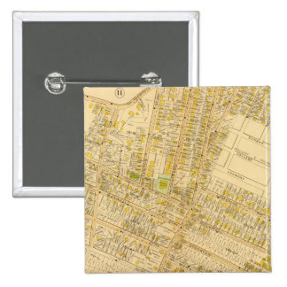 Dorchester, Massachusetts 2 Inch Square Button