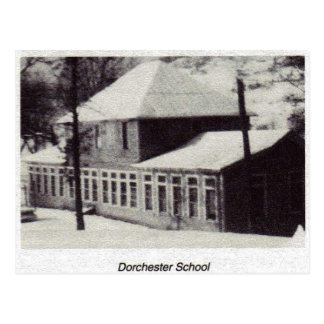Dorchester School in Norton, Virginia. Postcard