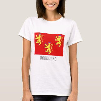 Dordogne flag with name T-Shirt