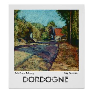 'Dordogne' Print or Poster print