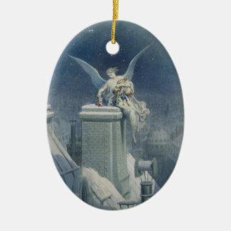 Dore Angel Ceramic Ornament