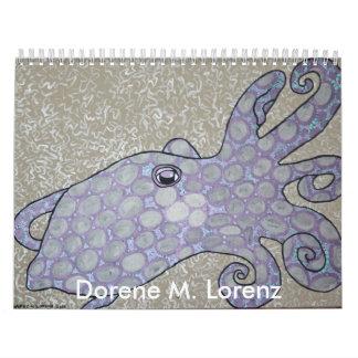 Dorene M. Lorenz Calendario De Pared