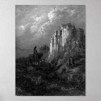 Doré's illustration of Camelot Poster