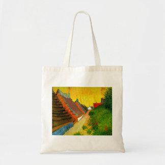 Dorfstrasse at Sainte-Maries painting by Van Gogh Bag