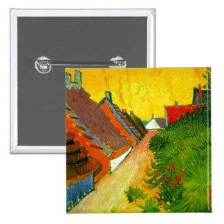 Dorfstrasse at Sainte-Maries painting by Van Gogh Pins