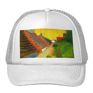 Dorfstrasse at Sainte-Maries painting by Van Gogh Trucker Hats