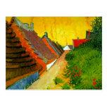 Dorfstrasse at Sainte-Maries painting by Van Gogh Postcard