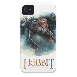 Dori, Bombur, & Oin Graphic iPhone 4 Cover