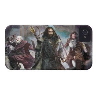 Dori, Kili, and Bifur Case-Mate iPhone 4 Case