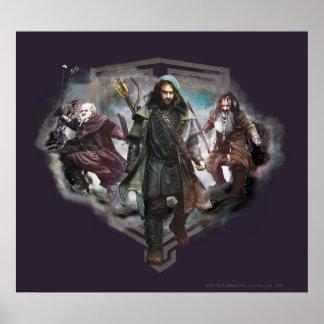 Dori, Kili, and Bifur Poster