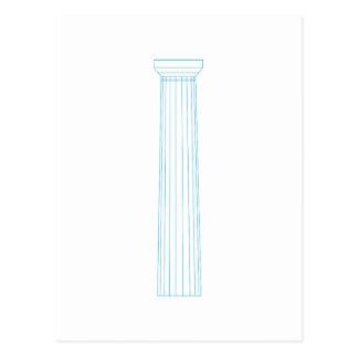 Doric Column Postcard