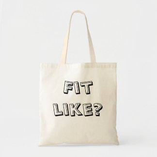 Doric Tote Bag - 'Fit Like?' - Ideal For Messages
