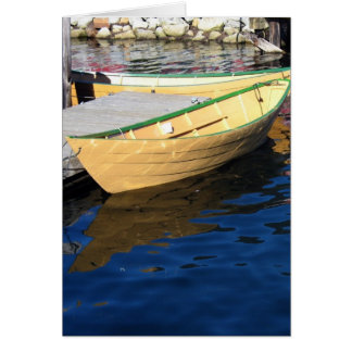 Dories Blank Greeting Card
