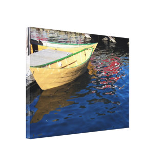 Dories Wrapped Canvas Stretched Canvas Print