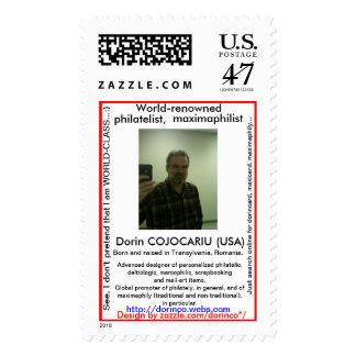 Dorin COJOCARIU (USA) Postage