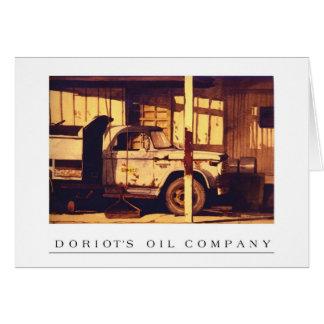 Doriot's Oil Company    Goshen, Indiana Card