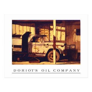 Doriot's Oil Company    Goshen, Indiana Postcard