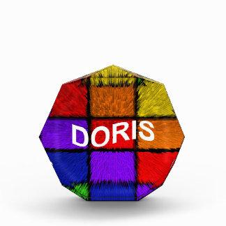 DORIS ACRYLIC AWARD