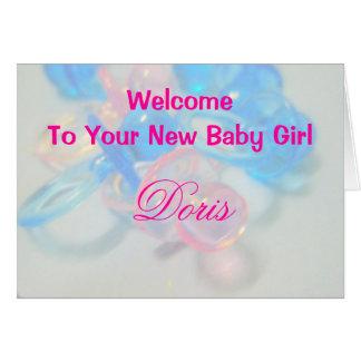Doris Card