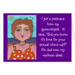 DORIS:  Conseguí una postal… - tarjeta de felicita