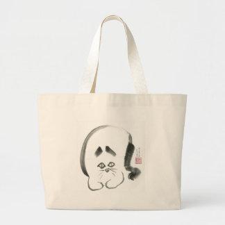 Doris Day Z, Sumi-e cat Tote Bags