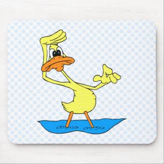 Doris Duck Mouse Pad