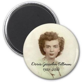 Doris Gosselin Tillman 2 Inch Round Magnet