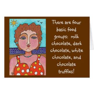 DORIS:  Hay cuatro grupos de alimentos básicos… -  Tarjeton