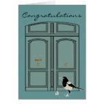 Doris la puerta + Maggie la urraca Felicitacion